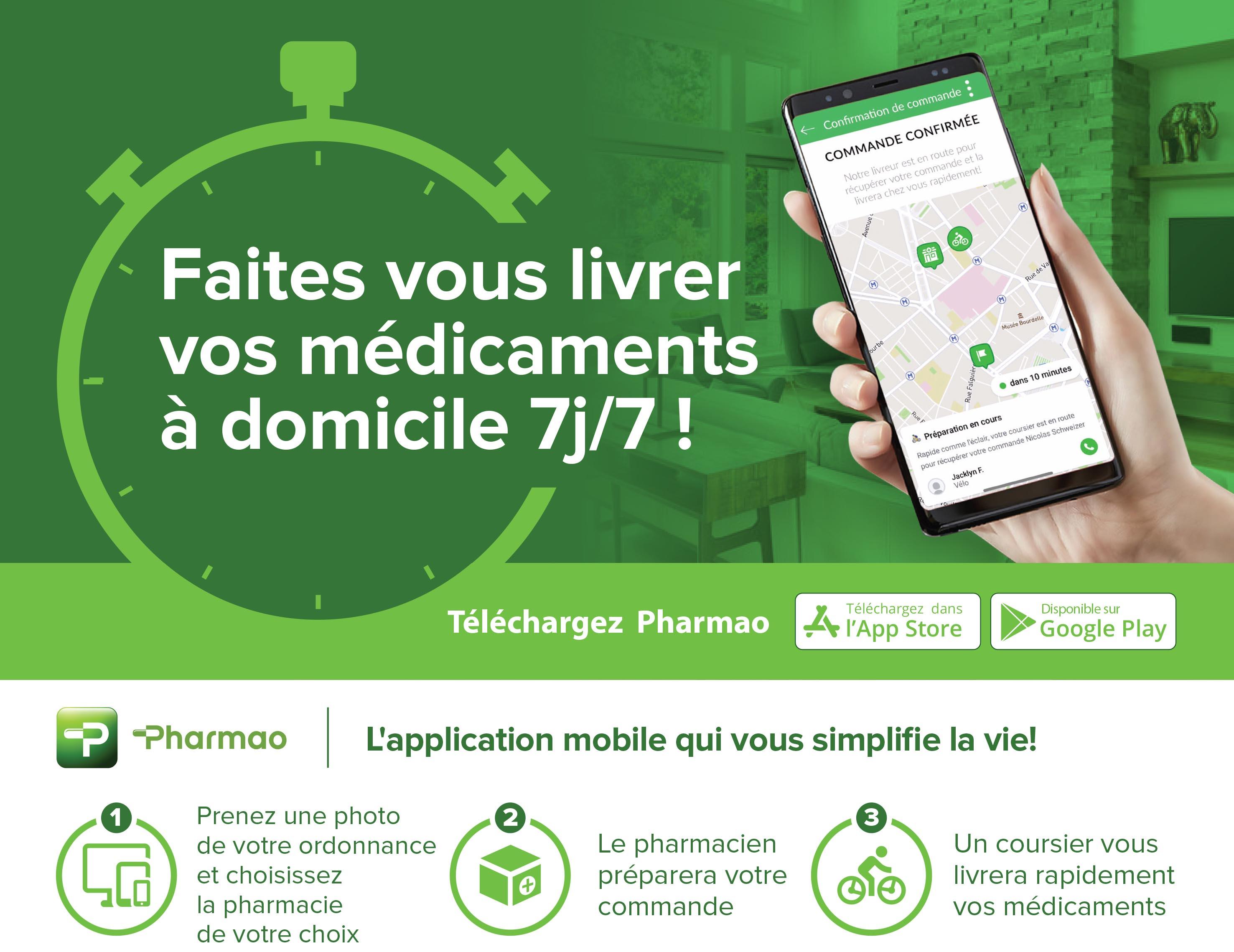 livraison pharmacie